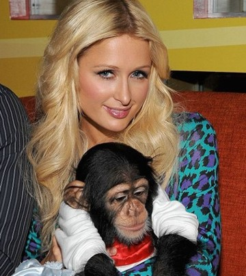 Paris Hilton with Bently