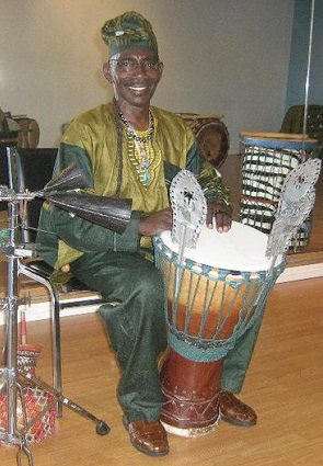 African themed event entertainer - drummer