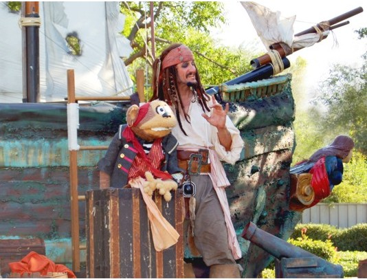 Jack Sparrow for hire in San Francisco and Northern California