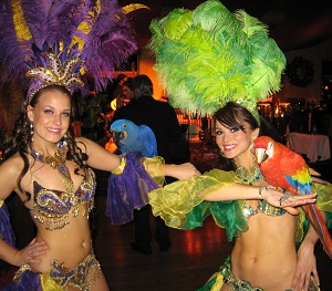 Rio Carnival themed party