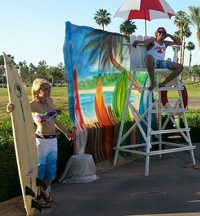surf themed party
