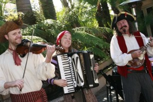 pirate band for a children's birthday party