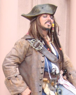 Captain Jack for hire for party or special event