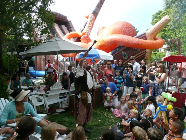 Pirate entertainers for pirate themed party or event - pirate fire breather act, pirate juggler for hire