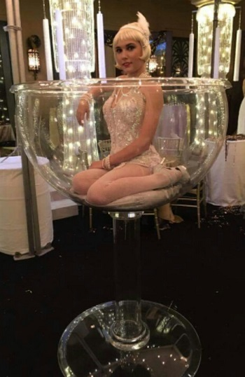 Giant Champagne Glass for Rent