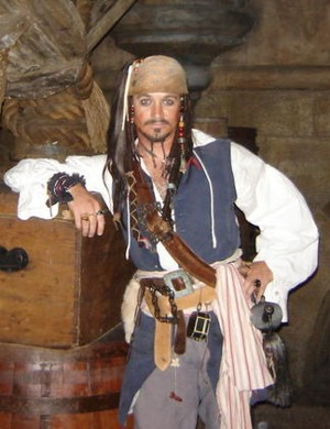Jack Sparrow in Maryland, Virginia, and pirate entertainer