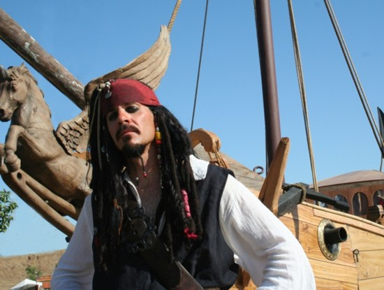 Jack Sparrow for hire in Fresno and Northern California