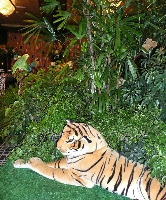 Jungle Theme Set Design And Decorations For Party Or Event