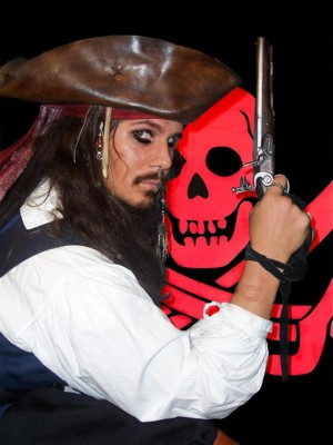 Jack Sparrow impersonator for hire in Ohio