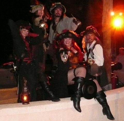 Adults only pirate party with captain jack and pirate for Party entertainment ideas for adults