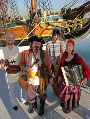 pirate band and nautical music