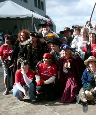 Pirate party entertainers for special events